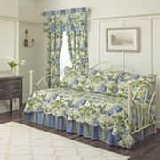 Waverly Floral Flourish 5 pc Reversible Daybed Quilt Set