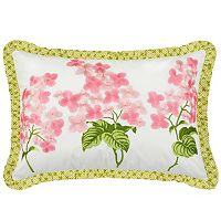 Waverly Emma's Garden Embroidered Throw Pillow