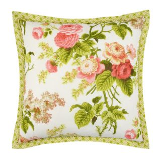 Waverly Emma's Garden Floral Throw Pillow