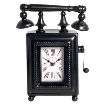 Phone Table Clock