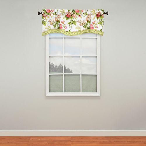 Waverly Emma's Garden Window Valance - 52'' x 18''