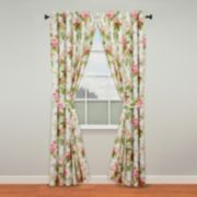 Waverly Emma's Garden Window Curtain Pair - 50'' x 84''