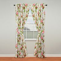 Waverly Emma's Garden Curtain Pair - 50'' x 84''