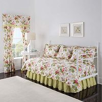 Waverly Emma's Garden 5 pc Reversible Daybed Quilt Set