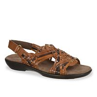 NaturalSoul by naturalizer Laden Women's Woven Slingback Sandals