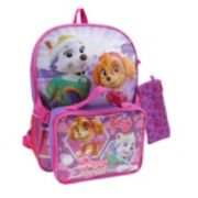 Paw Patrol Backpack & Lunch Bag With Bonus Pencil Case - Kids