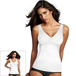 Maidenform Shapewear Sleek Smoothers 2-Way Shaping Tank DM2584 - Women's
