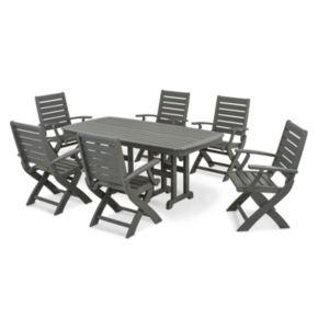 POLYWOOD® Signature 7-piece Outdoor Dining Set