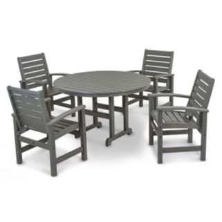 POLYWOOD® Signature 5-piece Outdoor Dining Set