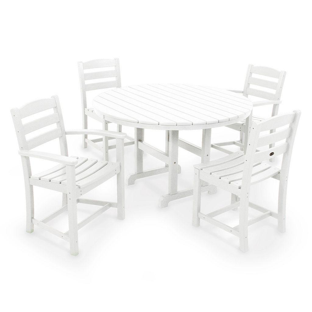 POLYWOOD® La Casa Cafe 5-piece Outdoor Dining Set