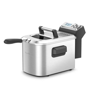 Breville the Smart 4-qt. Dual Deep Fryer