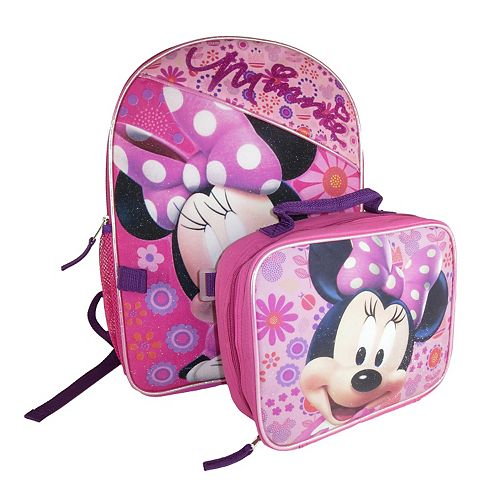 939727c02c7 Disney s Minnie Mouse Backpack   Lunch Bag Set - Kids