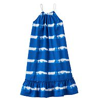 Toddler Girl Chaps Striped Ruffle Dress