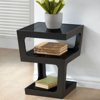 Baxton Studio Clara Modern End Table