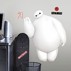Disney Big Hero Baymax Peel & Stick Giant Wall Decal
