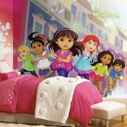 Dora & Friends Mural Wall Decal