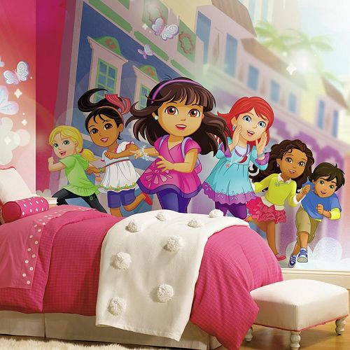 Dora and Friends Mural Wall Decal
