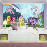 My Little Pony Ponyville Mural Wall Decal