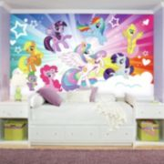My Little Pony Cloud Mural Wall Decal