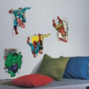 Marvel Superhero Burst Peel & Stick Giant Wall Decals