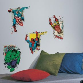 Marvel Superhero Burst Peel and Stick Giant Wall Decals