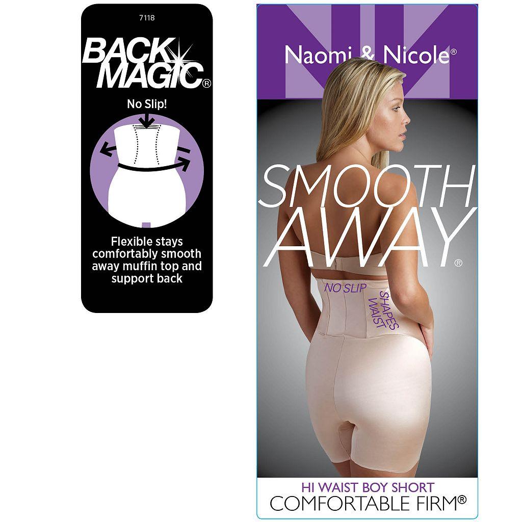Naomi & Nicole Smooth Away High-Waist Boy Short 7118