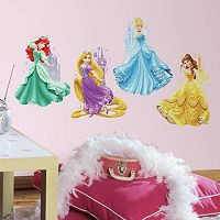 Disney's Princesses & Castles Peel & Stick Giant Wall Decals