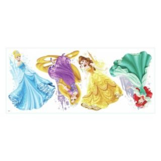 Disney's Princesses and Castles Peel and Stick Giant Wall Decals