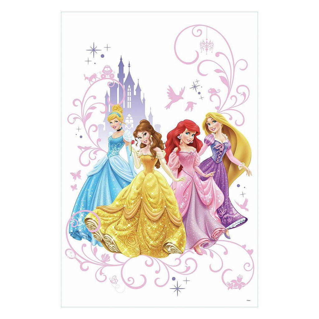 Disney's Princesses Wall Graphix Peel and Stick Giant Wall Decals