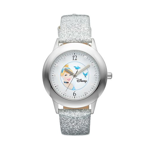 Disney's Cinderella Juniors' Leather Watch