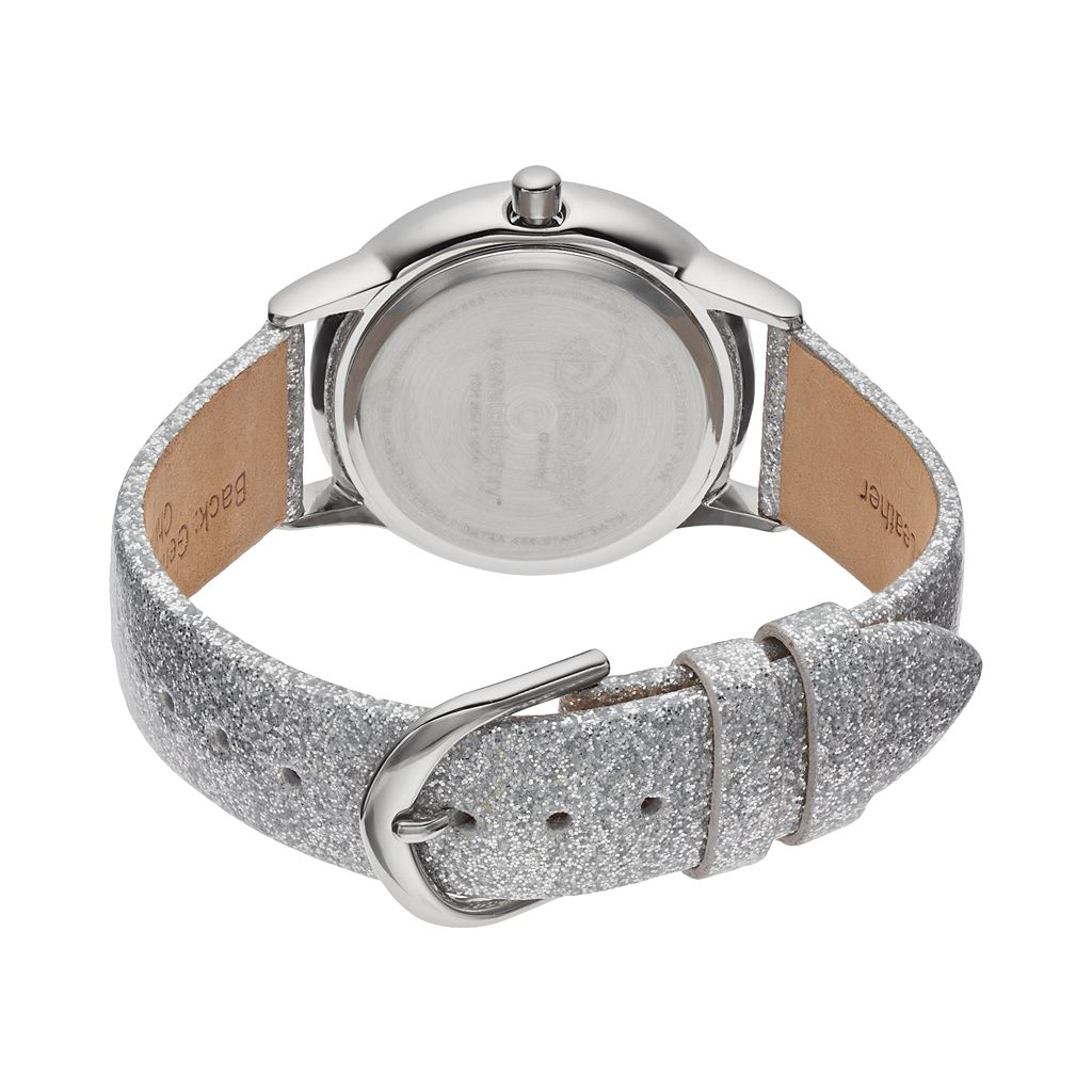 Disney's Cinderella Juniors' Leather Watch