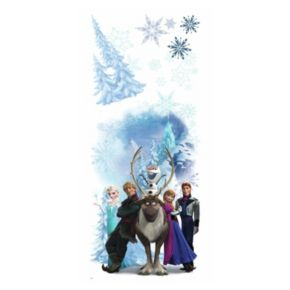 Disney's Frozen Winter Burst Peel and Stick Giant Wall Decals