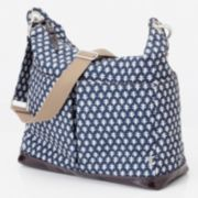 OiOi Two-Pocket Hobo Diaper Bag