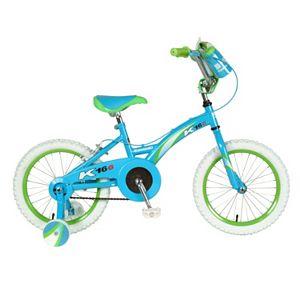 8186c79ab24 Girls Dynacraft 16-Inch Twilight Twist Training Wheel Bike
