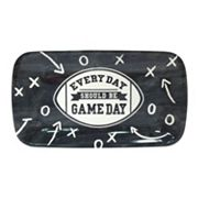 'Every Day Should Be Gameday' 14 in Rectangular Melamine Football Serving Tray