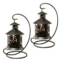 LumaBase 2 pc Tabletop Lantern Set