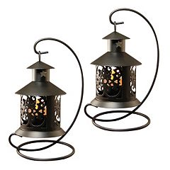 LumaBase 2-piece Tabletop Lantern Set