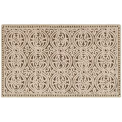 Safavieh Cambridge Tan Ornate Geometric Wool Rug