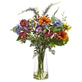 nearly natural Spring Garden Floral Arrangement