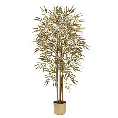 nearly natural Golden Bamboo Tree