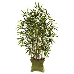 Click here to buy nearly natural Bamboo Tree Decorative Plant.