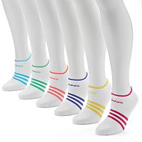 adidas 6-pk. Striped climalite No-Show Socks - Women