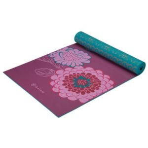 Gaiam 5mm Kiku Reversible Yoga Mat