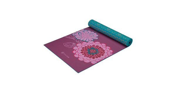 Gaiam 5mm Kiku Reversible Yoga Mat