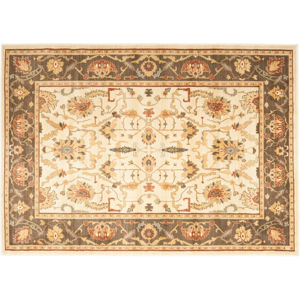 Safavieh Heirloom Framed Floral Rug