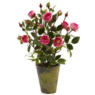 nearly natural French Rose Garden Arrangement