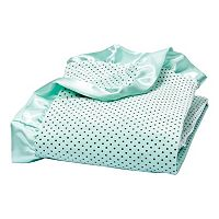 Trend Lab Dot Ruffle Receiving Blanket