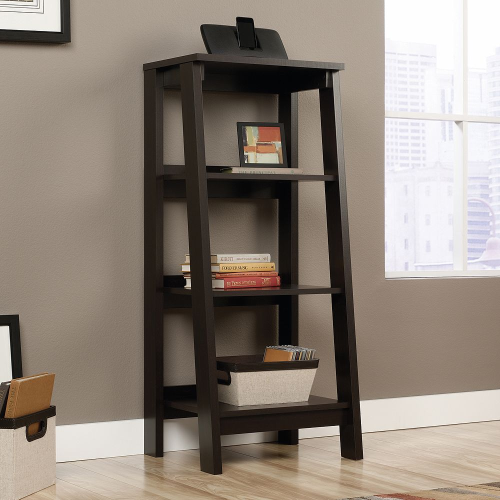Sauder Trestle 3 Shelf Bookcase