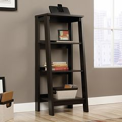 Sauder Trestle 3-Shelf Bookcase
