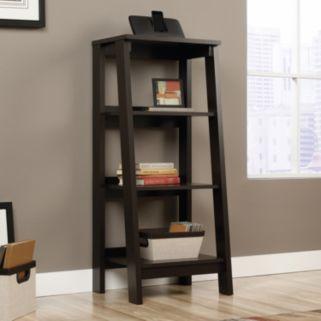Sauder Trestle 3-Shelf Bookcase